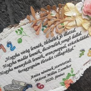 A Tanítónéni ballagási ajándéka. :-)  - Meska.hu