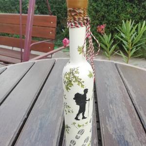 A világutazó, túrázó italos üvege. :-) - Meska.hu