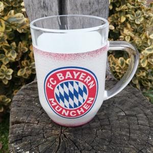 Bayern München sörös korsó, névreszóló, névnapi felirattal. :-) - Meska.hu