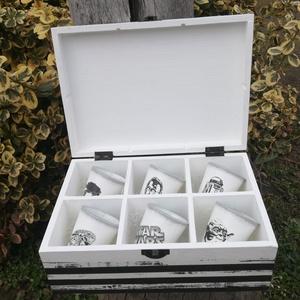 Star Wars-6 db-os pohár és díszdoboz szett. :-) - Meska.hu