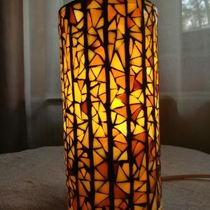 Mozaik lámpa - bézs (REMuhely) - Meska.hu