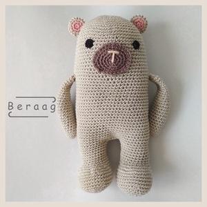 Igor a medve (Renigurumi) - Meska.hu