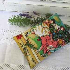 Karácsonyi levendula párna (renii73) - Meska.hu