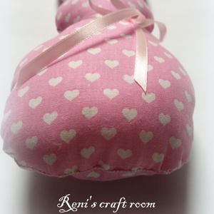 Textil nyuszi, szíves (Reniscraftroom) - Meska.hu