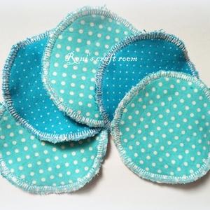 Mosható arctisztító korongok - 5db+ kis zsák, kékek (Reniscraftroom) - Meska.hu