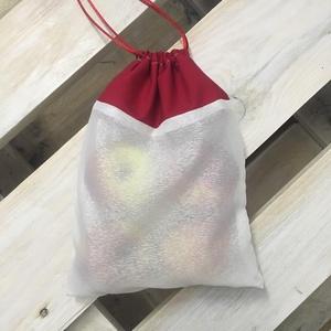 Szityi-Szatyi Réthy újrahasználható bevásárló zsák, Kicsi méretben, Táska, Táska, Divat & Szépség, Szatyor, Varrás, Újrahasznosított alapanyagból készült termékek, Meguntam a nejlon szatyros bevásárlás és a környezet szennyezését. Ezért kitaláltam az újrahasználha..., Meska