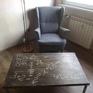 Egyedi készítésű nagyméretű asztal, Otthon & lakás, Bútor, Asztal, Famegmunkálás, Egyedi  készítésű, nagyméretű  kávézó,dohányzó asztal , újrahasznosított anyagokból.\nAZOKNAK AKIK NE..., Meska