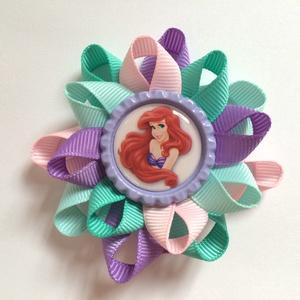 Ariel, a kis hableány hajcsat (rózsaszín, lila, menta), Táska, Divat & Szépség, Hajbavaló, Ruha, divat, Hajcsat, Gyerek & játék, Ékszerkészítés, Varrás, Ariel, a kis hableány mese rajongó kislányoknak tökéletes ajándék ez a hajbavaló!!!! Garantáltan imá..., Meska
