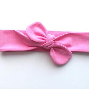 Fagyi rózsaszín rugalmas pamut fejpánt / hajpánt, Gyerek & játék, Táska, Divat & Szépség, Hajbavaló, Ruha, divat, Hajpánt, Szuper aranyos divatos kiegészítő ez a pamut fejpánt!  Nagyon jó minőségű pamut anyagból készült, am..., Meska
