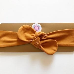Mustársárga rugalmas pamut fejpánt / hajpánt, Hajráf & Hajpánt, Hajdísz & Hajcsat, Ruha & Divat, Varrás, Ékszerkészítés, Szuper aranyos divatos kiegészítő ez a pamut fejpánt!\n\nNagyon jó minőségű pamut anyagból készült, am..., Meska
