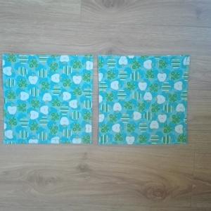 Textílszalvéta- 2db alma mintás 2 db (ritakreativ) - Meska.hu