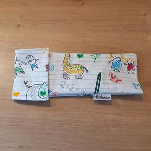 Evőeszköztartó, fogkefetartó, szívószáltartó Anya rajzoltam!, Táska & Tok, Uzsonna- & Ebéd tartó, Italtartó és evőeszköz tartó, Eleged van az eldobható műanyag evőeszközökből? Akkor tarts a táskádban fém evőeszközöket. Ebben a s..., Meska