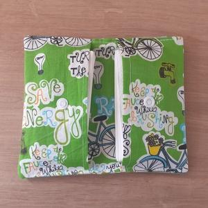 Go green bicikli zsepitartó, Otthon & Lakás, Tárolás & Rendszerezés, Zsebkendőtartó, Varrás, Elkerülnéd hogy a kelleténél több szemetet termelj? A 10-es csomag papírzsepi helyett ezentúl elég l..., Meska