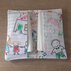Anya rajzoltam! zsepitartó, Otthon & Lakás, Tárolás & Rendszerezés, Zsebkendőtartó, Varrás, Elkerülnéd hogy a kelleténél több szemetet termelj? A 10-es csomag papírzsepi helyett ezentúl elég l..., Meska