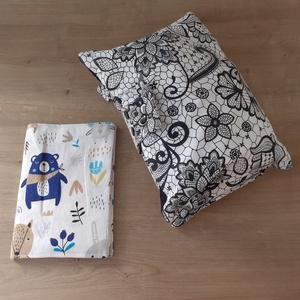 Babaváró szett választható mintával, Játék & Gyerek, Babalátogató ajándékcsomag, Az épp aktuálisan készleten lévő anyagokból választhatsz. Vásárlás előtt egyeztessünk email-en vagy ..., Meska