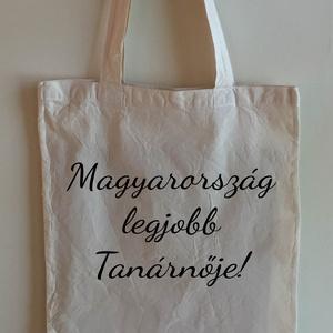 Vászon szatyor -> Magyarország legjobb ..., Táska, Táska, Divat & Szépség, Szatyor, NoWaste, Fotó, grafika, rajz, illusztráció, Mindenmás, A vászon szatyor mérete 40x35 cm. \nMás színekben is rendelhető, egyedi megbeszélés alapján.\n\n..., Meska