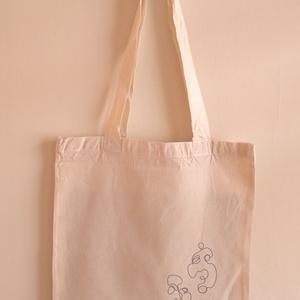 Designer vászon szatyor (Fejek 2), Táska, Divat & Szépség, Táska, Szatyor, NoWaste, Fotó, grafika, rajz, illusztráció, A vászon szatyor mérete 40x35 cm.\n\nThe size of the bag is cca 40x35 cm.\n\nFANKO design, Meska