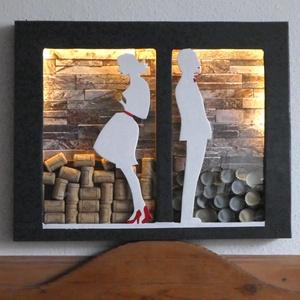 """Reklám Design \""""Csak még egy pohárral\"""", Otthon & Lakás, Dekoráció, Kép & Falikép, Famegmunkálás, Jellegét tekintve, akár az étkezőnk falát is díszítheti, de egy kocsmában, egy bárban, vagy bármelyi..., Meska"""