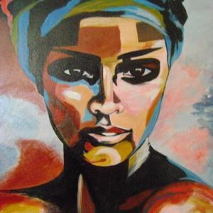 Reprodukció ANETTE TJARBY képéről - vászonra akril festékkel, Akril, Festmény, Művészet, Festészet, Mindenmás, Vászon, akril festék.\nMérete: 40x50 cm\nEgy van belőle.\nANETTE TJARBY egyik képét reprodukáltam, term..., Meska