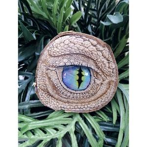 Sárkány szem - Pirográf technikával (zöld-kék) , Otthon & Lakás, Dekoráció, Asztaldísz, Festett tárgyak, Gravírozás, pirográfia, Pirográf technikával készült zöld-kék Sárkány szem.\nEz a kis dekoráció tökéletes dísze lesz lakásodn..., Meska