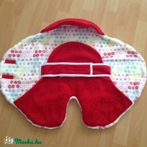 Baba utazási takaró / nomád takaró babáknak, Játék & Gyerek, Babalátogató ajándékcsomag, Varrás, Pihe - puha baba takarót készítettem csöppségeknek.\nLágyan öleli körbe a babát.\nPraktikus a tépőzárr..., Meska