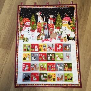Csodálatos karácsony  kutyákkal - Adventi kalendárium- naptár  - Meska.hu