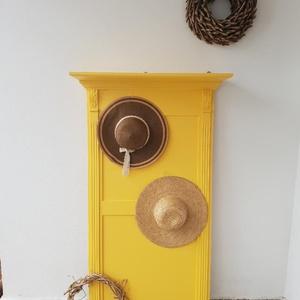 Okker előszobafal, A képen látható daran elkelt, de van alapanyagban egy 50x100 cm-es falam, amelyet szívesen elkészíte..., Meska