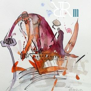 """Akvarell kép - \""""Csónakos\"""", Művészet, Festmény, Akvarell, Fotó, grafika, rajz, illusztráció, Festészet,  Akvarell,filc/ Akvarellpapír 24x18 cm\n2016. Budapest\n\n, Meska"""
