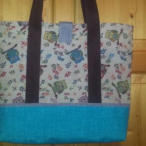 Textilből készült táska (Rubi) - Meska.hu