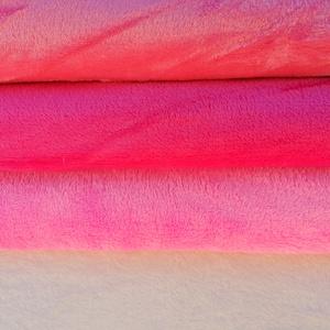 Két részes lány együttes pihe-puha wellsoftból választható folttal - babarózsaszín nyuszis                         (Ruciwebshop) - Meska.hu