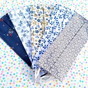 5 db vékony kánikula maszk - nyári maszk: virág mintás maszk, leveles maszk, indás maszk - egyrétegű maszk, Táska, Divat & Szépség, Szépség(ápolás), Maszk, szájmaszk, NoWaste, Varrás, Pamutból készült textil szájmaszk (egyrétegű), amely gumipánttal rögzíthető a fejre, anyaga mosható,..., Meska