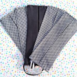 5 db vékony kánikula szájmaszk: rombuszos szájmaszk, pöttyös szájmaszk, fekete szájmaszk - férfi szájmaszk , Táska, Divat & Szépség, Szépség(ápolás), Maszk, szájmaszk, NoWaste, Varrás, Pamutból készült textil szájmaszk (egyrétegű), amely gumipánttal rögzíthető a fejre, anyaga mosható,..., Meska