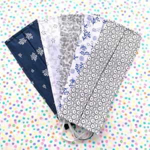 5 db vékony maszk - virágos maszk - maszk hölgyeknek - egyrétegű maszk, Táska, Divat & Szépség, Szépség(ápolás), Maszk, szájmaszk, NoWaste, Varrás, Pamutból készült textil szájmaszk (egyrétegű), amely gumipánttal rögzíthető a fejre, anyaga mosható,..., Meska