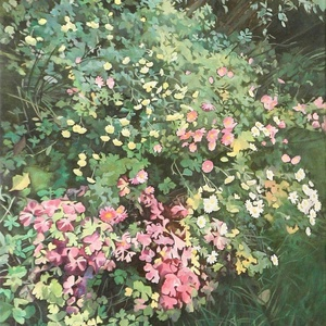 """Őszi kert - art print (olajfestményem alapján), Otthon & lakás, Dekoráció, Kép, Lakberendezés, Falikép, Festészet, \""""ŐSZI KERT\"""" art print (olajfestményem alapján)\nMéret: 40 x 60 cm\n\nVálasztható felületek:\n- 240 g-os ..., Meska"""