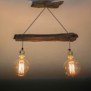fából készült csillár