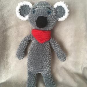 """amigurumi koala, Játék & Gyerek, Plüssállat & Játékfigura, Maci, Horgolás, 33 cm \""""magas\"""" koala, nagyon puha fonalból készült.  Alig várja, hogy az új gazdájával találkozhasson..., Meska"""
