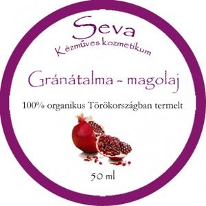 Gránátalma-magolaj, 100% organikus termesztés, Törökországból 50 ml (Saleva) - Meska.hu