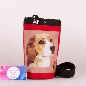 Beagle Jutalomfalat táska - Cordura kutyakiképző kiegészítő, Táska & Tok, Övtáska, Varrás, Sziasztok!\n\nKutyasuliba kellett egy strapabíró táska, amiből kényelmesen lehet a jutalomfalatokat os..., Meska