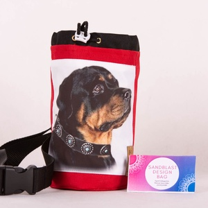 Rottweiler Jutalomfalat táska - Cordura kutyakiképző kiegészítő, Táska & Tok, Övtáska, Varrás, Sziasztok!\n\nKutyasuliba kellett egy strapabíró táska, amiből kényelmesen lehet a jutalomfalatokat os..., Meska