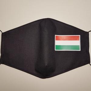 Arcmaszk nemzeti zászlós , Maszk, Arcmaszk, Férfi & Uniszex, Varrás, Fekete textil arc maszk, nemzeti zászlóval.\n100%pamut\n4db. nagyobb mintával1600ft./db\n4db.kisebb min..., Meska