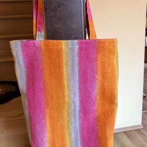 Csodás nyári táska , NoWaste, Bevásárló zsákok, zacskók , Táska, Divat & Szépség, Táska, Szatyor, Varrás, Kiváló ajándék is lehet ! \nVastag ( dekor ) vászonból készült környezettudatos, egyedi női válltáska..., Meska
