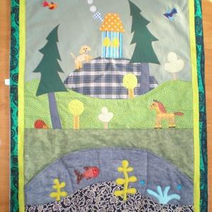 Állatkás falikép 90x70 cm (Sarahuncutsagai) - Meska.hu