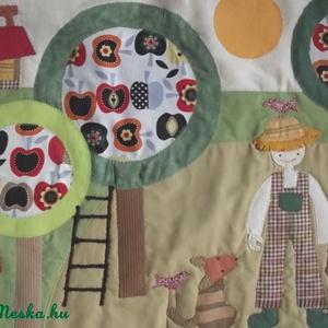 Kertes-almafás falikép 120x60 cm (Sarahuncutsagai) - Meska.hu