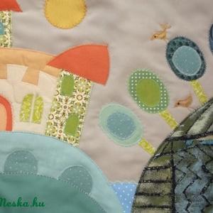 Váras falikép, fiús 90x50 cm (Sarahuncutsagai) - Meska.hu