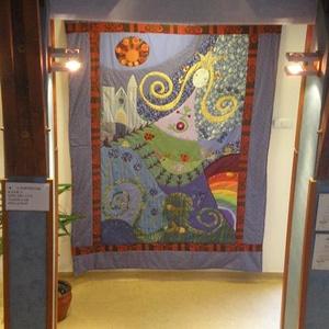 Tündérkert falikép 200x300 cm (Sarahuncutsagai) - Meska.hu