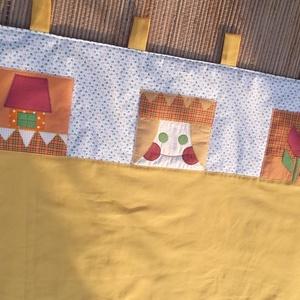 Kislány falvédő ágy mellé 120 x 90 cm (Sarahuncutsagai) - Meska.hu