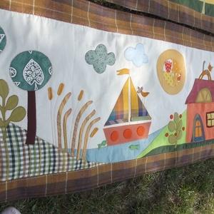 Keskeny falikép, hajós-tavas 150 x 60 cm (Sarahuncutsagai) - Meska.hu
