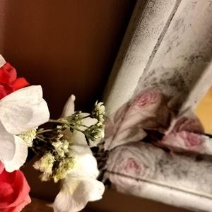 Tükör decoupage díszítéssel és repesztőlakkal (sasdykriszti) - Meska.hu