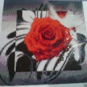 Mozaik kép (újdonság)rózsa (scagi) - Meska.hu