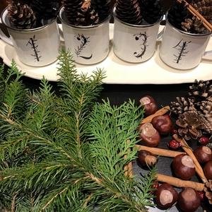 Karácsonyi bögrék (SCDESIGN) - Meska.hu